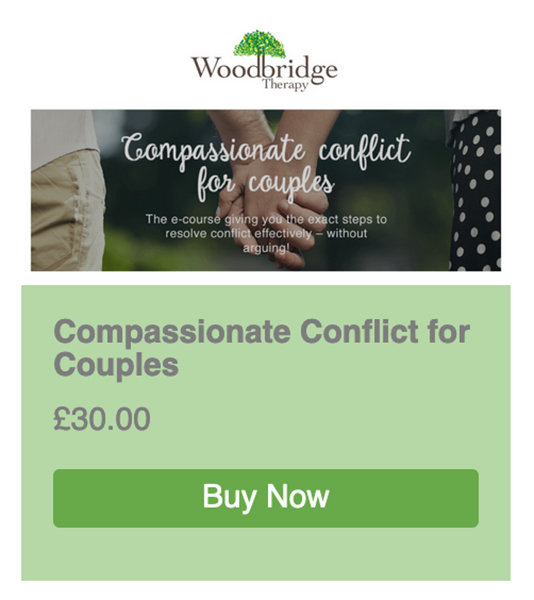 Compassionate Conflict for Couples