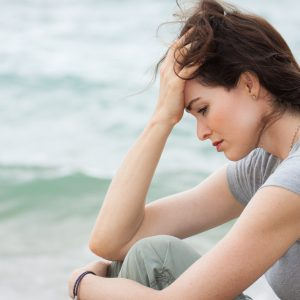 Stressed woman local Counselling Centre